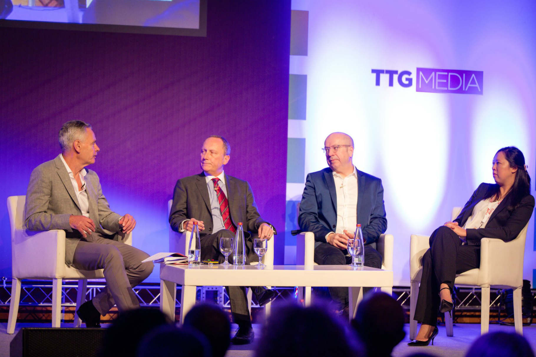 Richard Carrick Talking at Conference